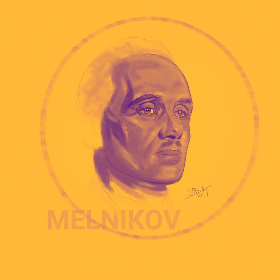 Konstantin Melnikov. Great Russian architect.
