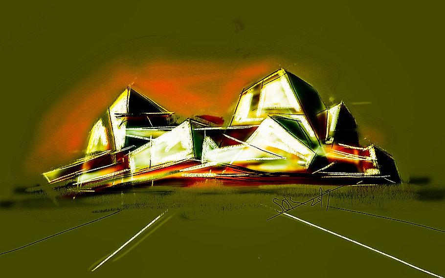 Architectural fantasy A-167_