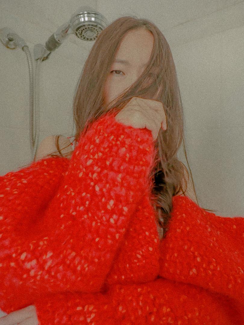 hand crochet lattern sleeves