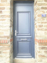 Porte entrée, Menuiserie MERCERON Fabrice