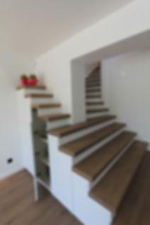 Aménagement escalier Menuiserie MERCERON Fabrice