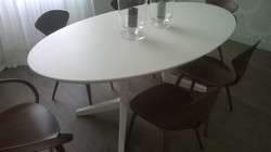 Fabrication d'une table