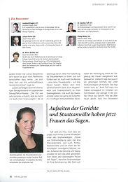Pressemeldung - Magazin JUVE Mai/Juni 2020