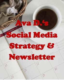 Ava D's Social Media Strategy & Newsletter