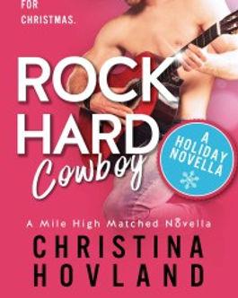 Rock Hard Cowboy by Christina Hovland