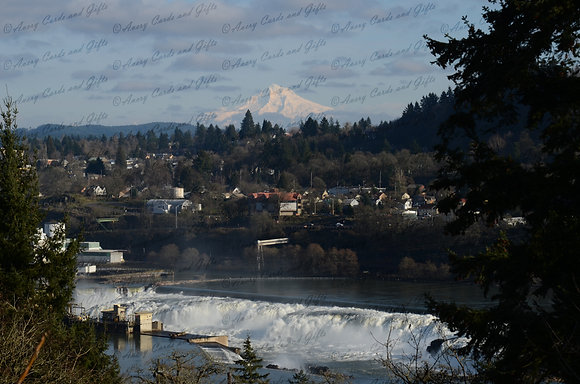 Mt Hood and Willamette Falls