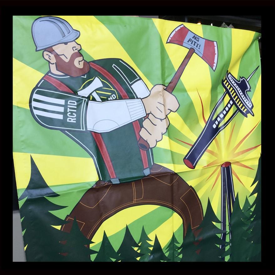 Timbers Seattle Tifo