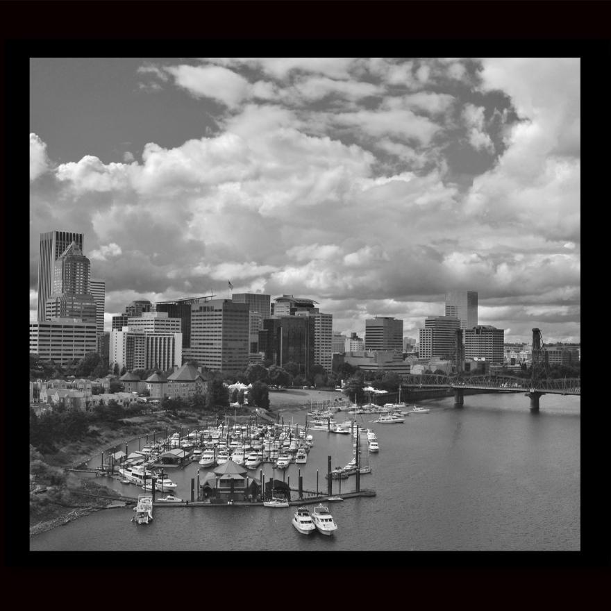 Portland dowtown B&W.jpg