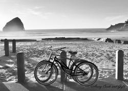 Pacific City Bikes - b&w.jpg
