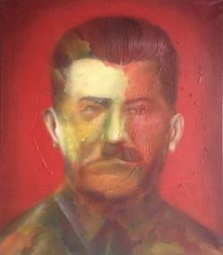 Портрет диктатора 20 века 70 см на 80 см