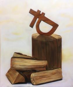 Рублю дрова 100 на 120 см
