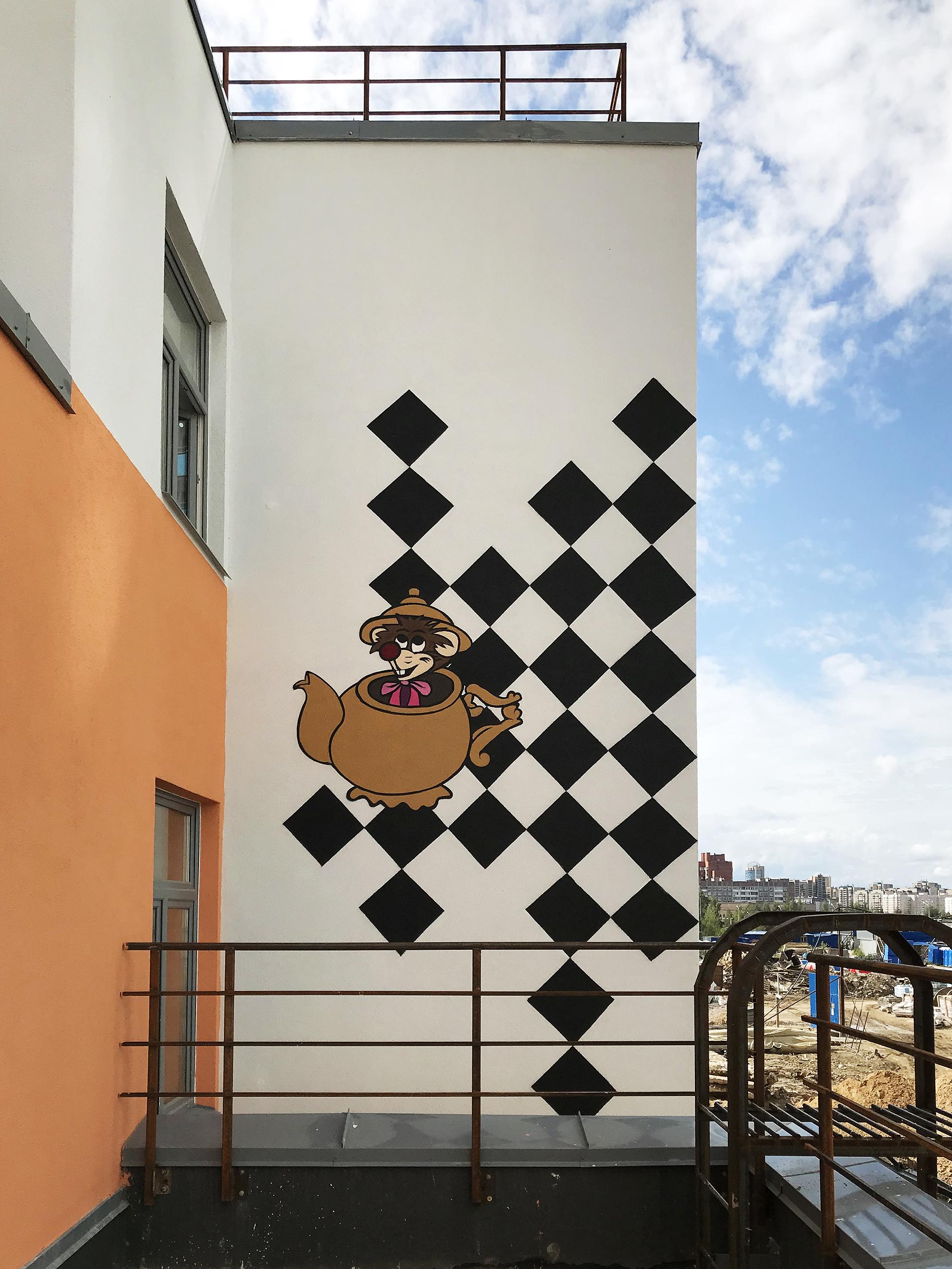 Роспись фасада