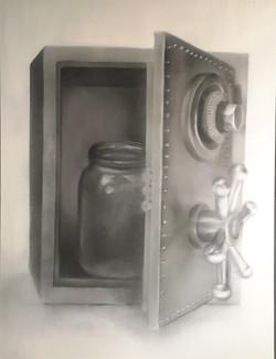 В сейфе банка 60 см на 80 см