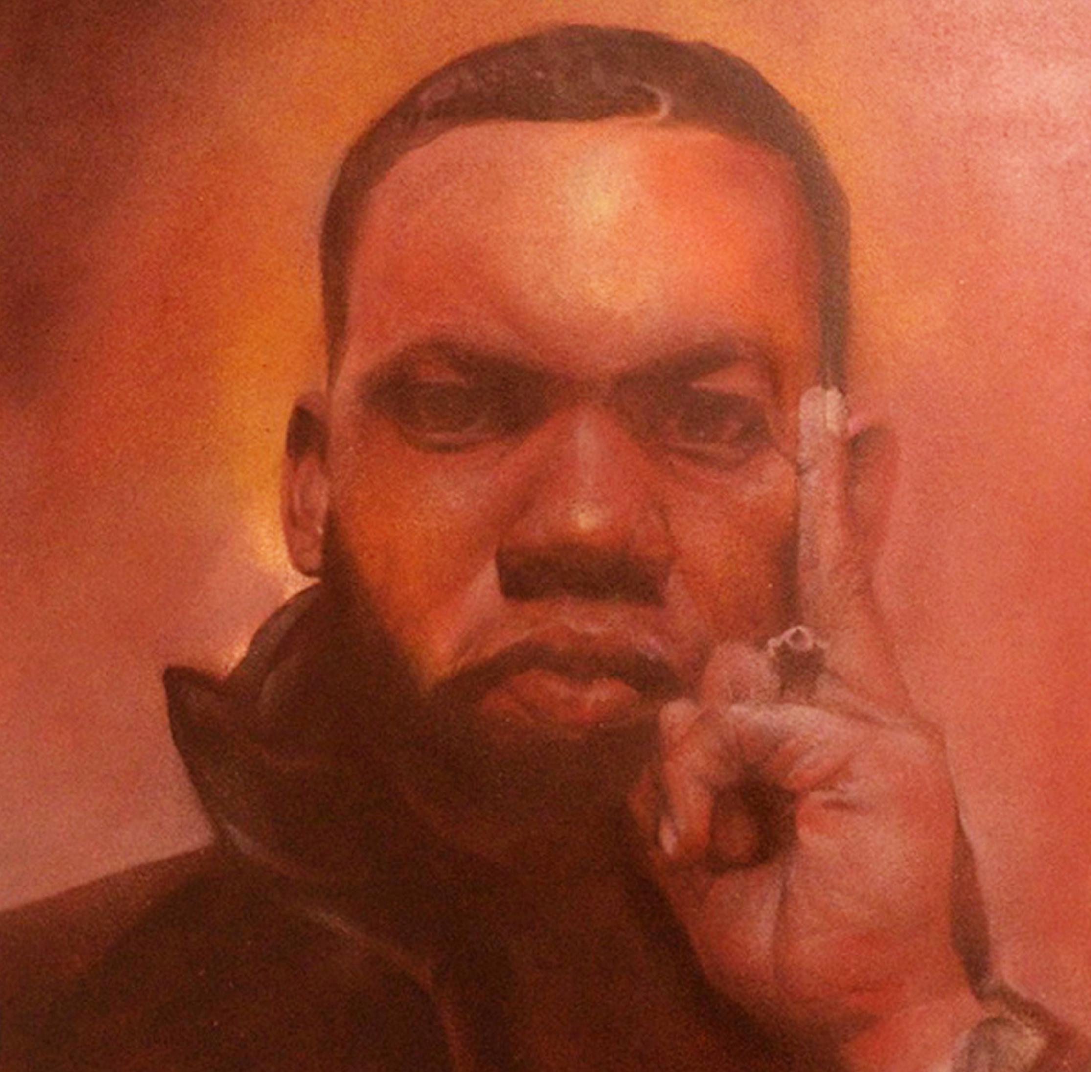 Александр Меллион-Raekwon картон 50 50см аэрозоль