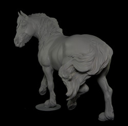Scotty - Canadian Horse Resin