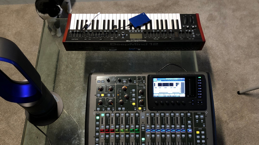 Behringer Deepmind12 and X32