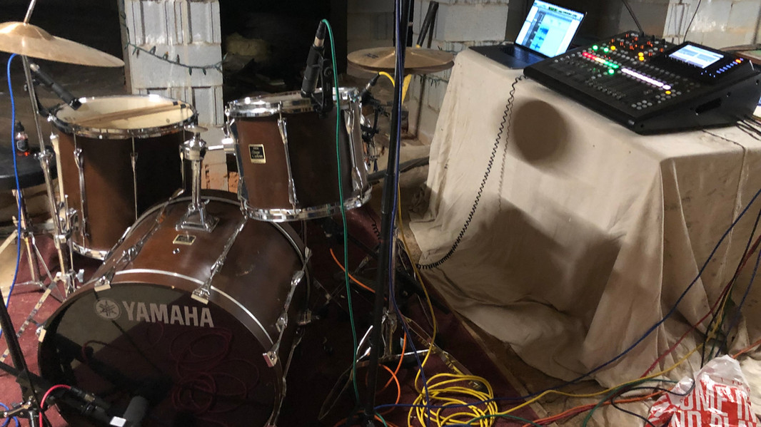 Drum Tracking in the Crawlspace