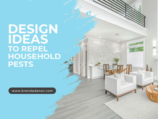 Design Ideas to Repel Household Pests