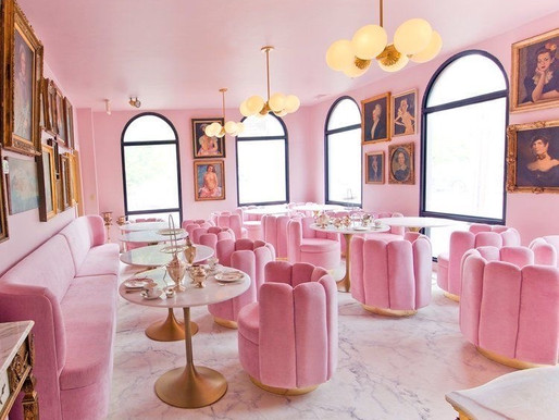 One Room Challenge-Week 3 Pink Room