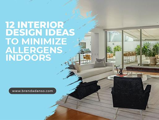 12 Interior Design Ideas to Minimize Allergens Indoors