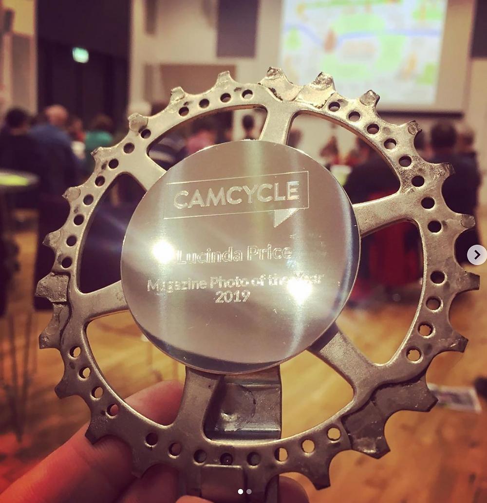 Camcycle Award