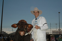 Mike and Bull at Beef 2006