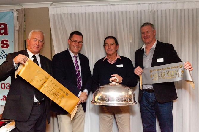 Tookey Creek and Jarrah Park genetics wins Gold Medal in the RAS Beef Challenge Taste Test