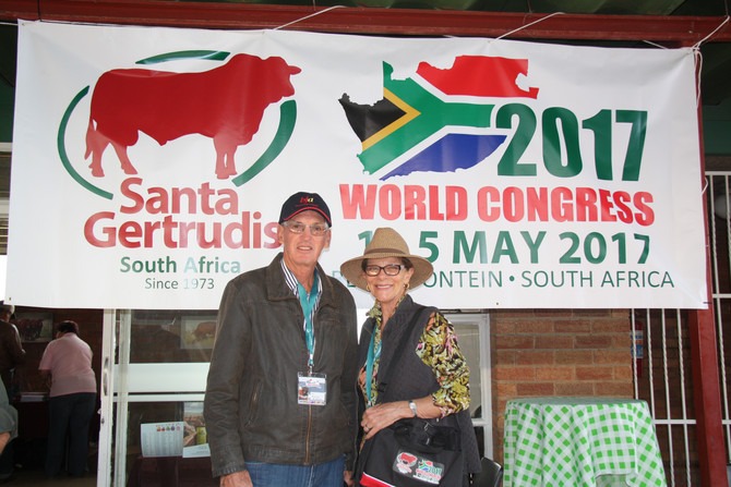 Santa Gertrudis World Congress in South Africa