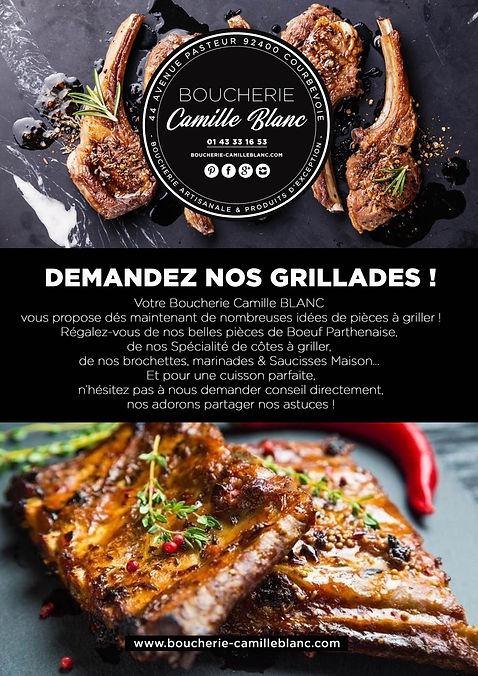 GRILLADES AVRIL 2020 Boucherie Camille B