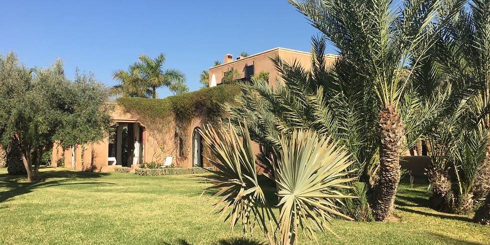 Séjours Yoga Marrakech: Un temps pour soi 25 -29 Novembre 2021