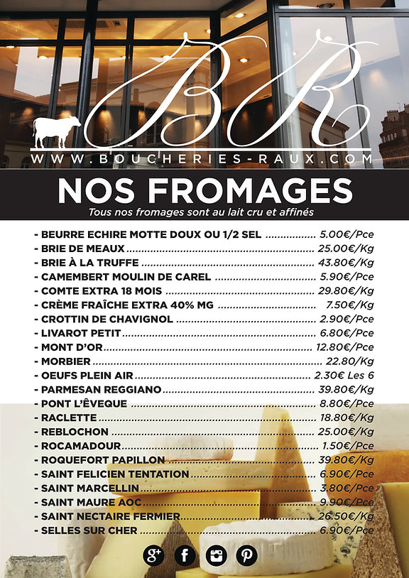 FROMAGES AFFICHE RAUX Garches OK_ PRIX .