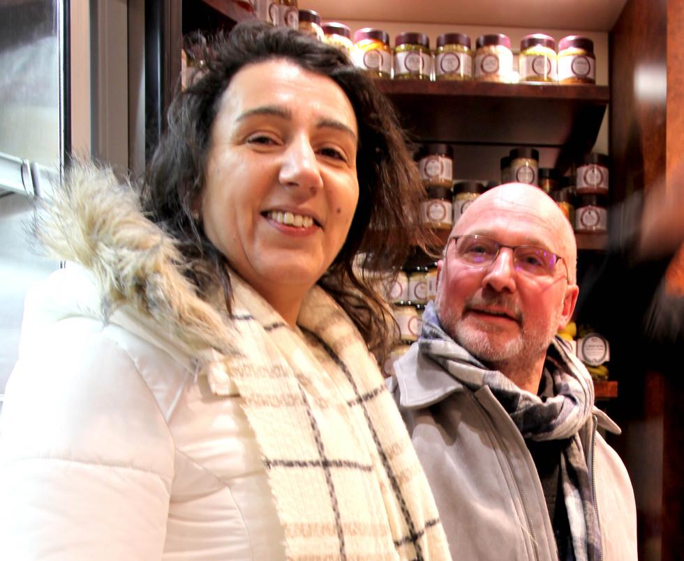 Pascal des Boucheries RAUX de Garches et son épouse