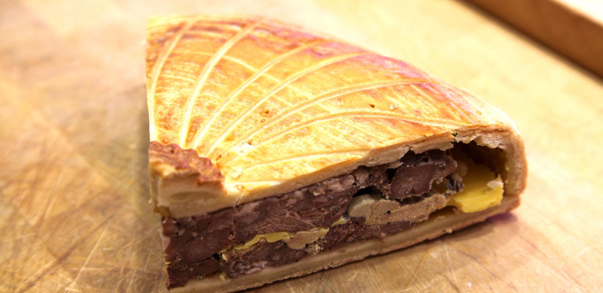 Tourte maison Canard, Foie gras et épic
