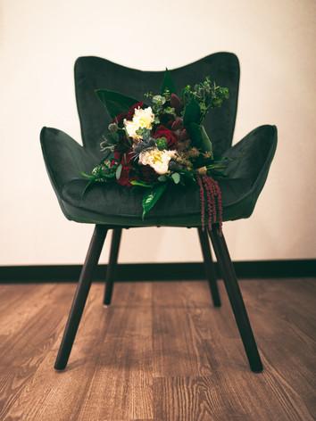 Flower on Chair