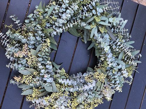 Fresh Eucalyptus Wreaths