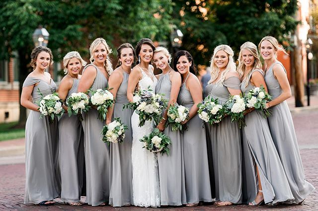Bridal party perfection❤️ photo cred_  _