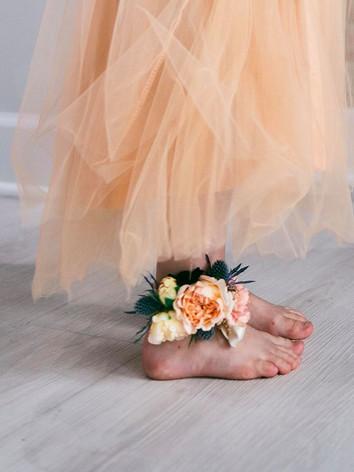 Flowers in Feet