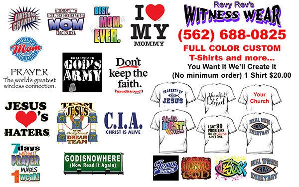 Revy Rev Witness Wear