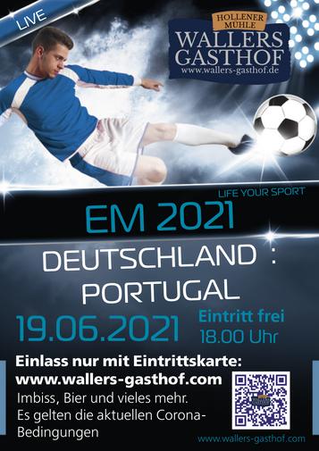 EM: Deutschland-Portugal