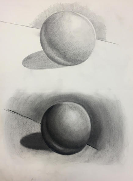 Value Spheres (Graphite + Charcoal)