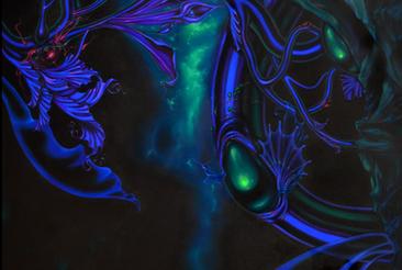 Blue Congregation (Detail)