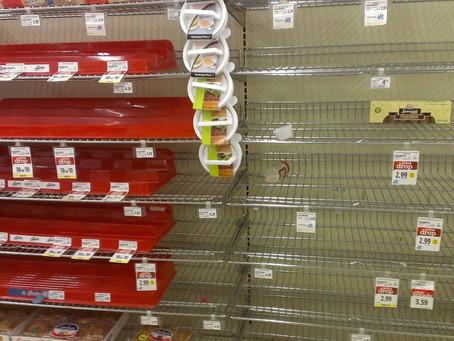 Empty shelves and empty promises