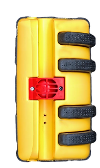 The highly visible MirroSafe casing in Signal Yellow