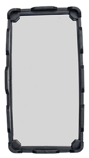 The MirrorSafe Convex Glass and Rear Rubber Frame
