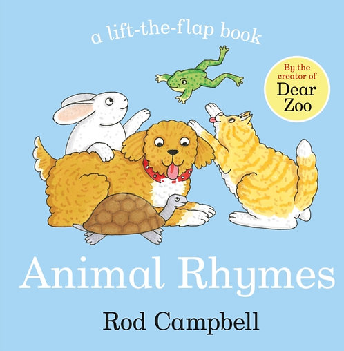 Animal Rhymes Lift The Flap by Rod Campbell