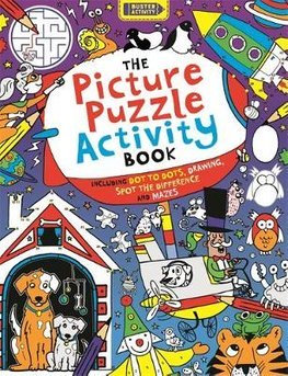 Picture Puzzle Activity Book