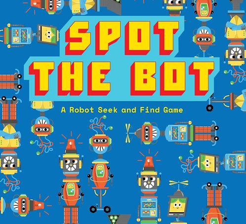 Spot The Bot Robot Board Game