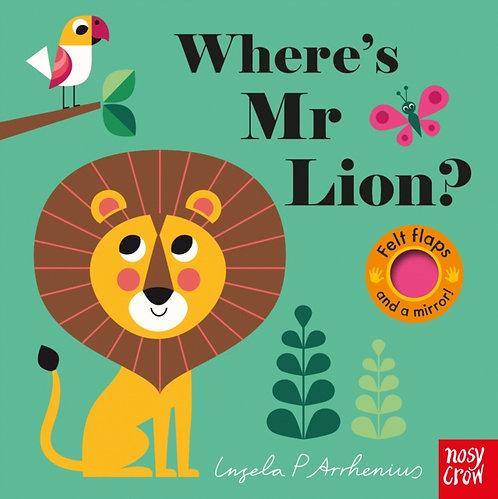 Where's Mr Lion?
