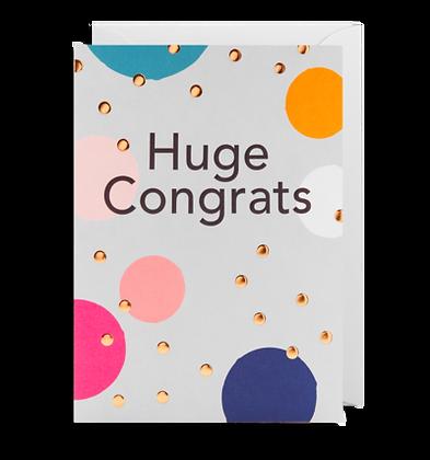 Huge Congrats