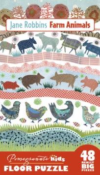 Farm Animals Floor Puzzle 48pc